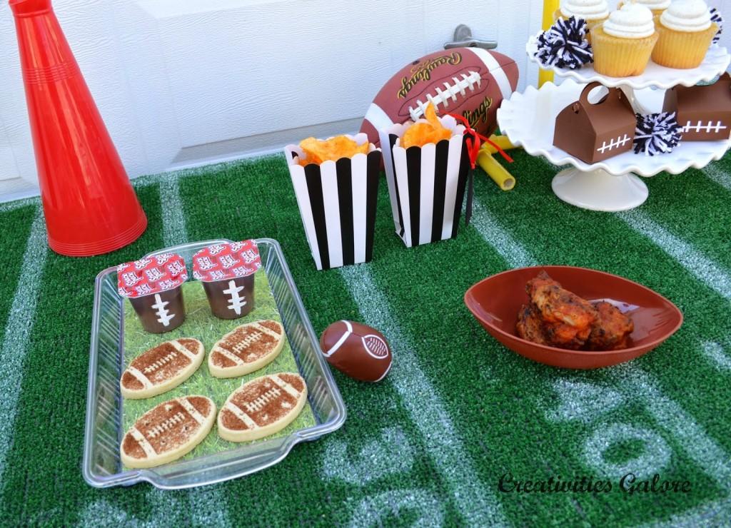 Creativities Galore:: Football Party