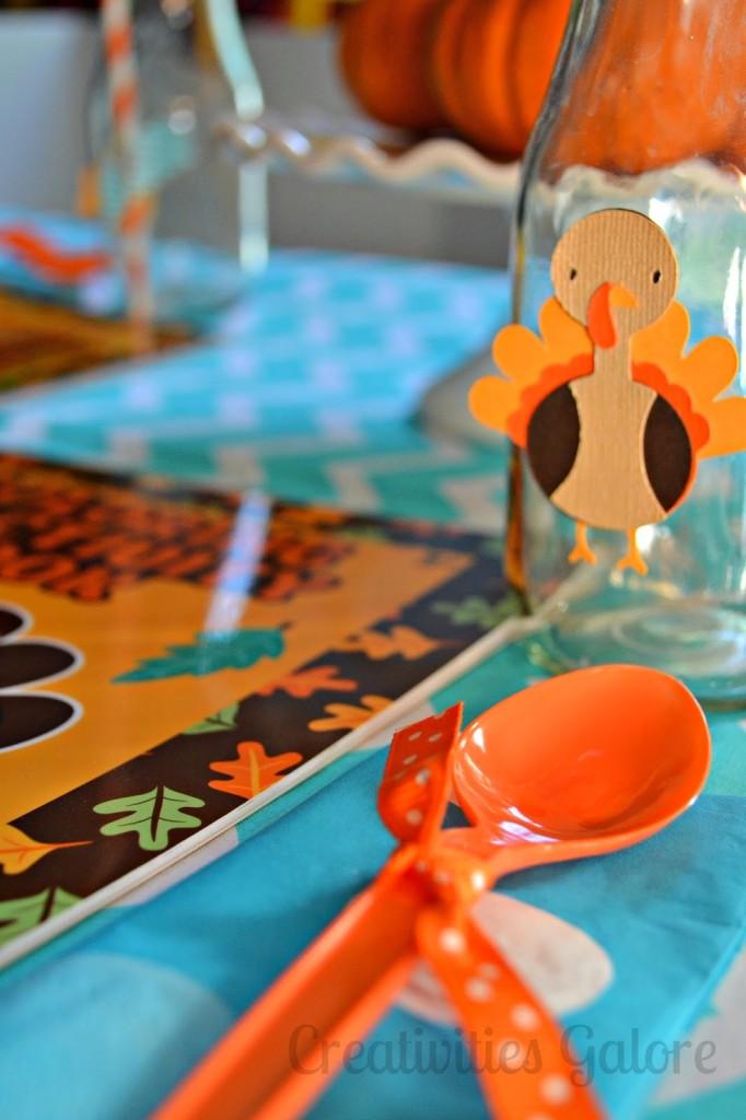 Creativities Galore: Kids Thanksgiving Table