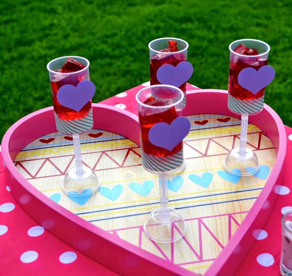 Creativities Galore: Heart Valentine's Day Picnic Party