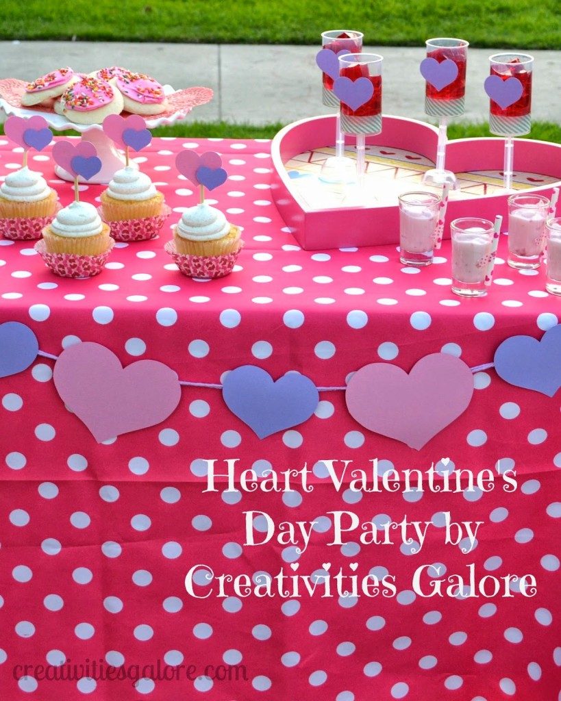 Heart Valentine's Day Party Valentine Party