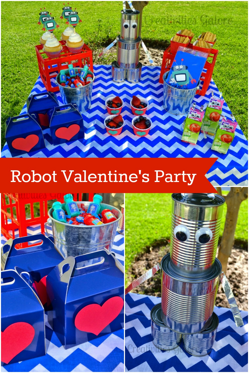 Robot Valentine's Party by Creativities Galore