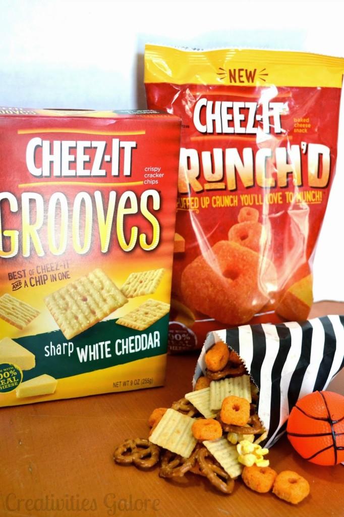 Cheez-It Mix Recipe by Creativities Galore