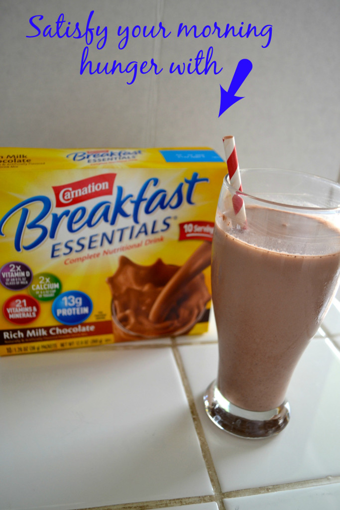 Satisfy your morning hunger with Nestlé Carnation Breakfast Essentials