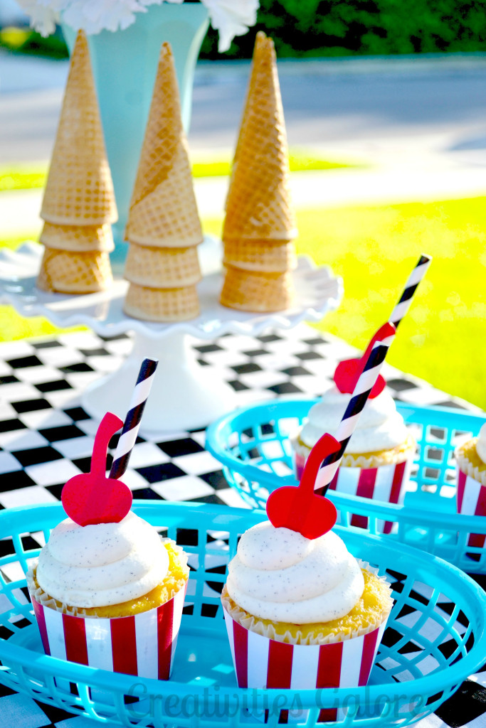 50s Ice Cream Party 12