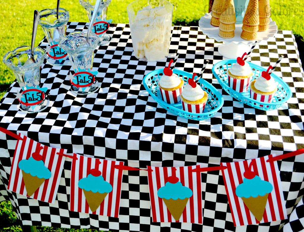 50s Ice Cream Party 15