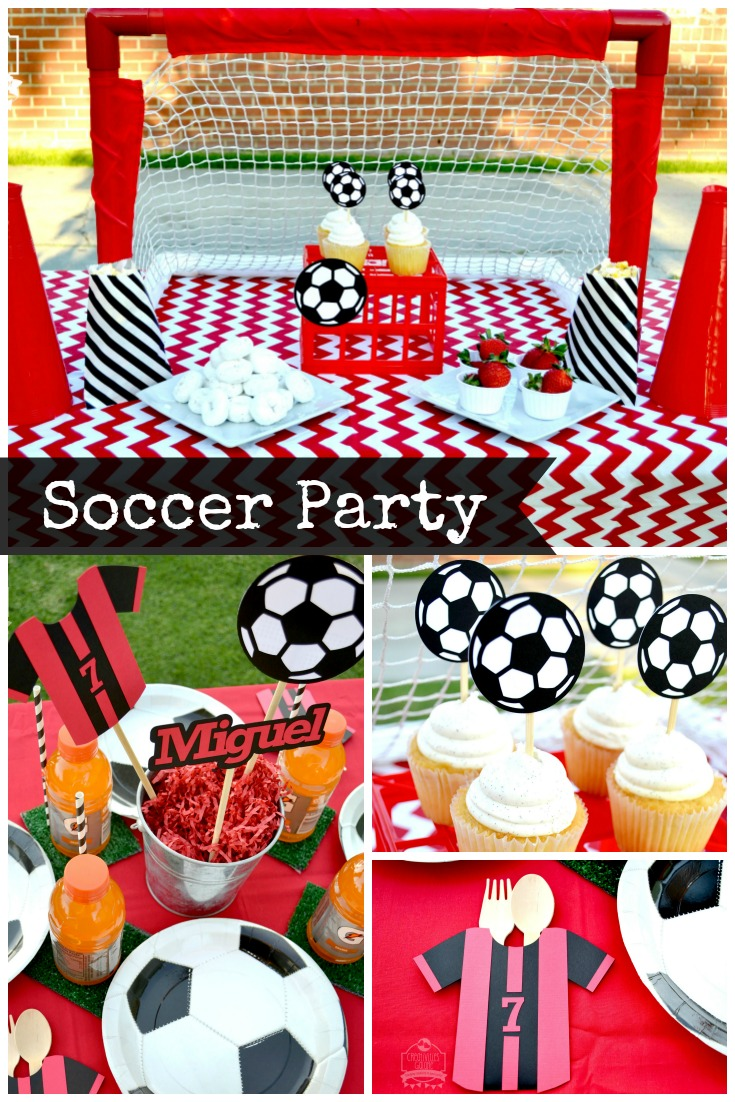 Soccer Party Ideas by Creativities Galore
