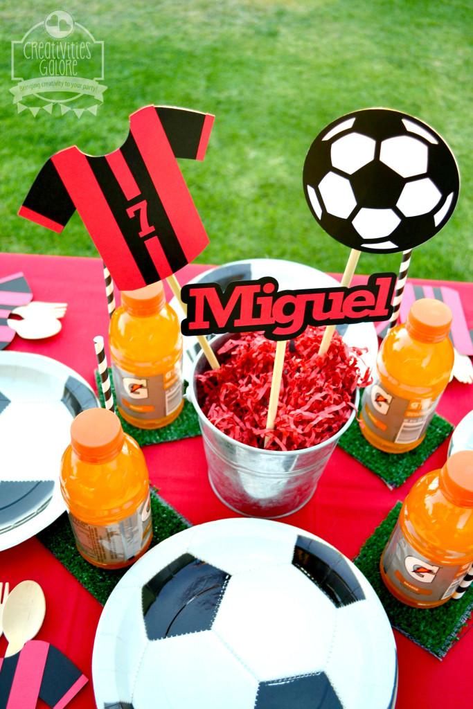 Soccer Tablescape 1