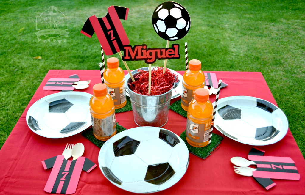 Soccer Tablescape 2