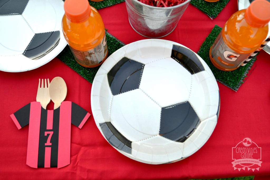 Soccer Tablescape 8