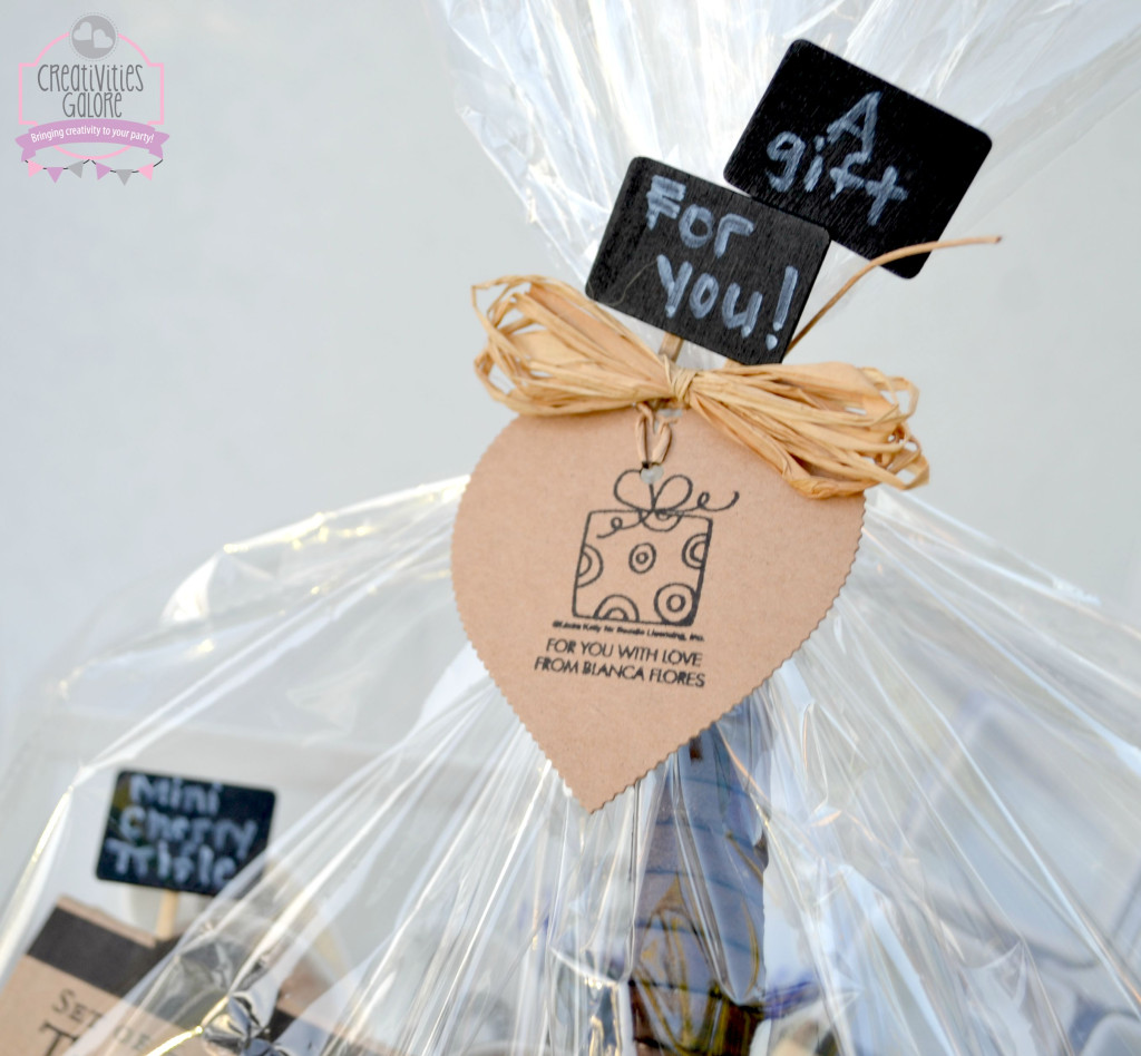 Expressionery Wraps Gift Basket