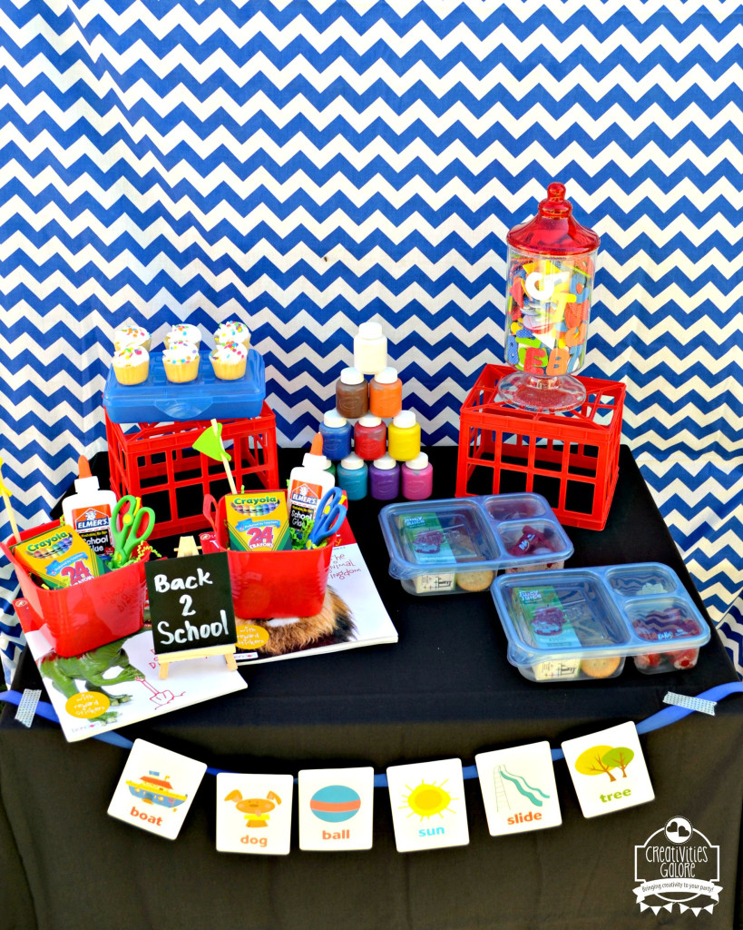 Back To School Party Ideas 1
