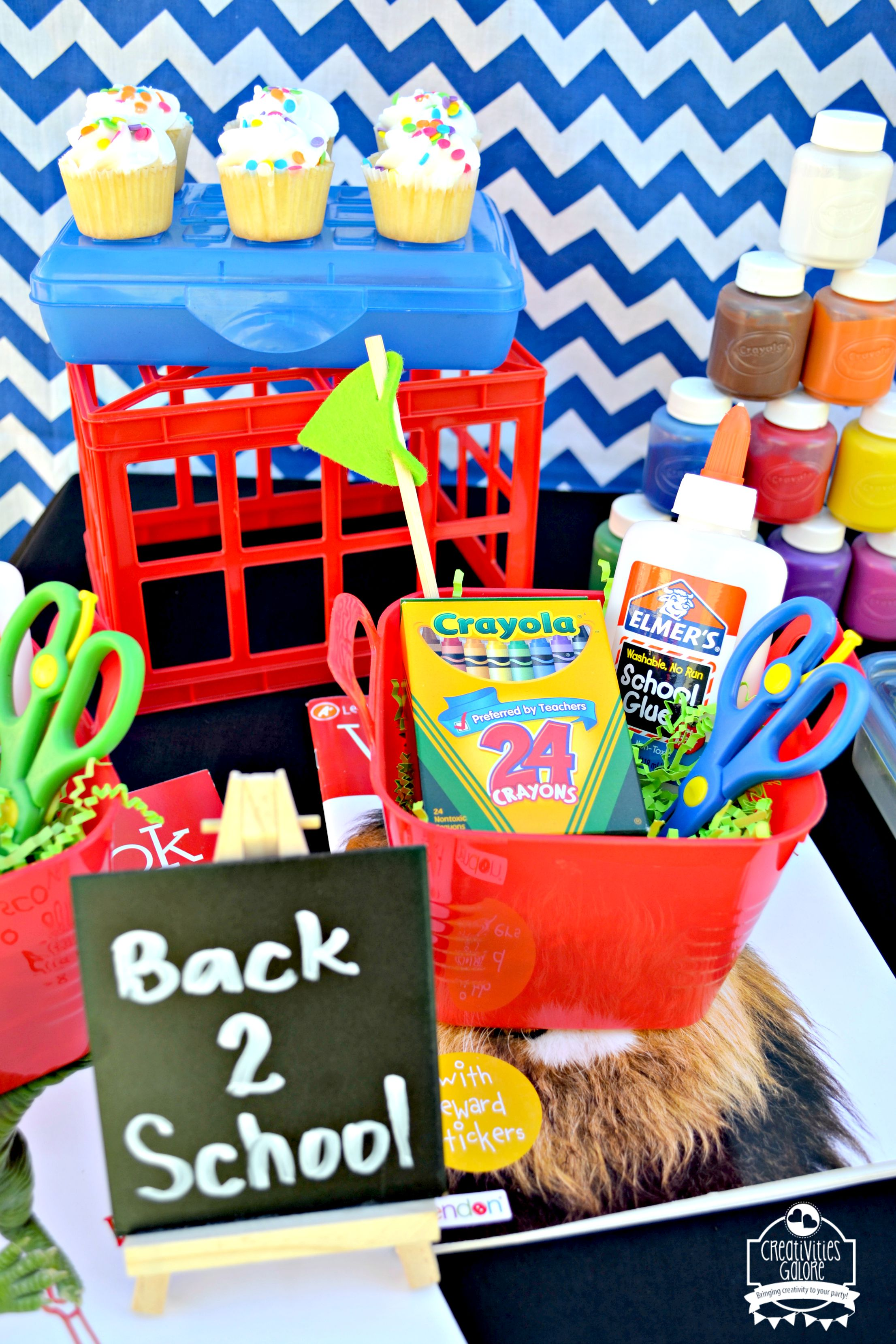 Back to school party ideas creativities galore for Back to school decoration ideas