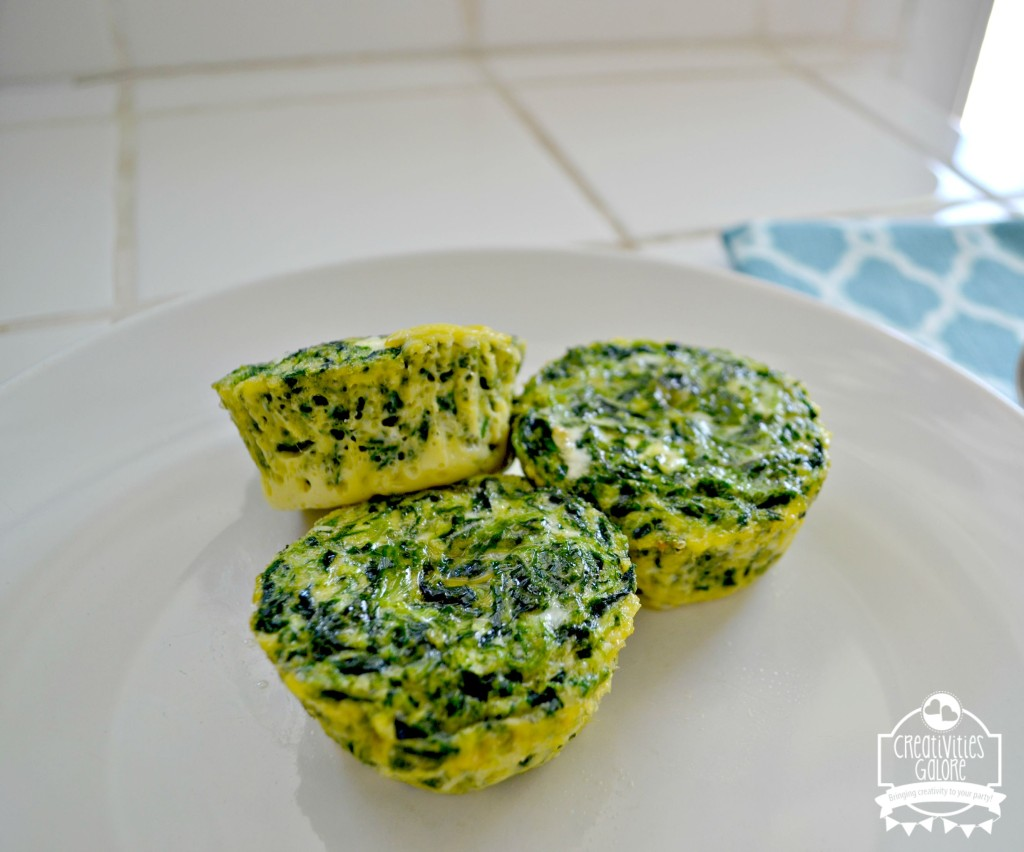 Egg and Spinach Cups Recipe