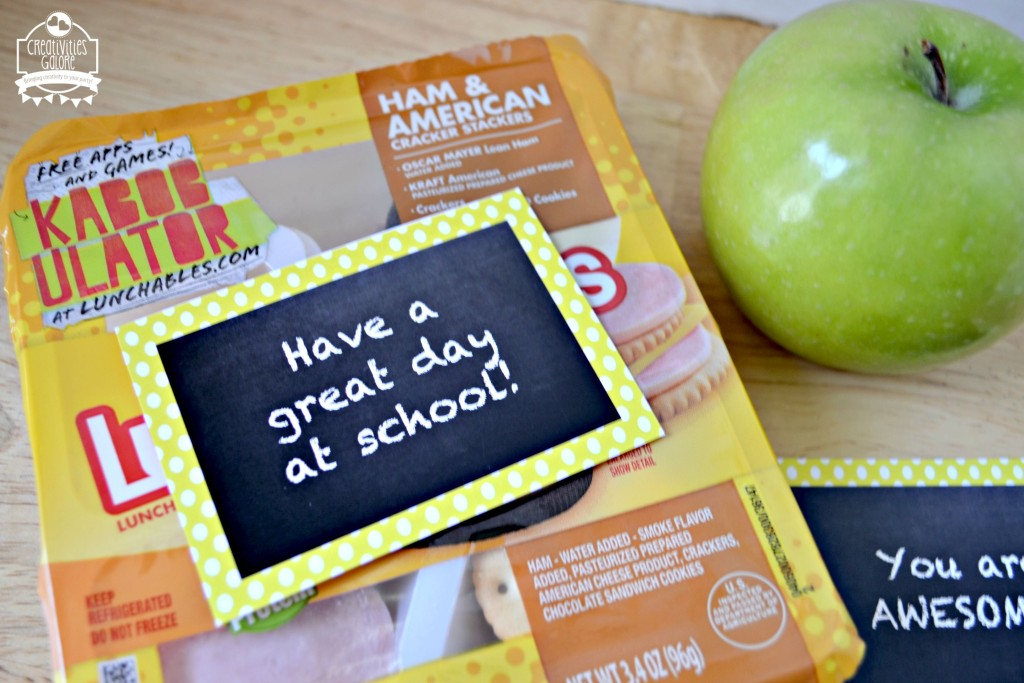 FREE Lunch Note Printable 4