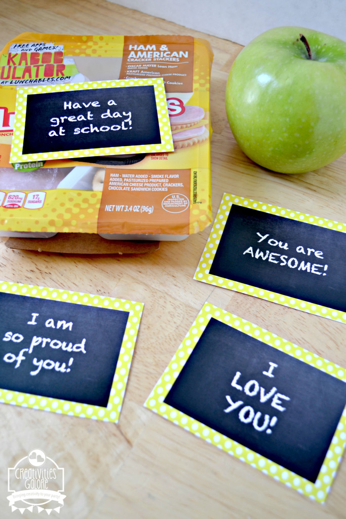 FREE Lunch Note Printable 6