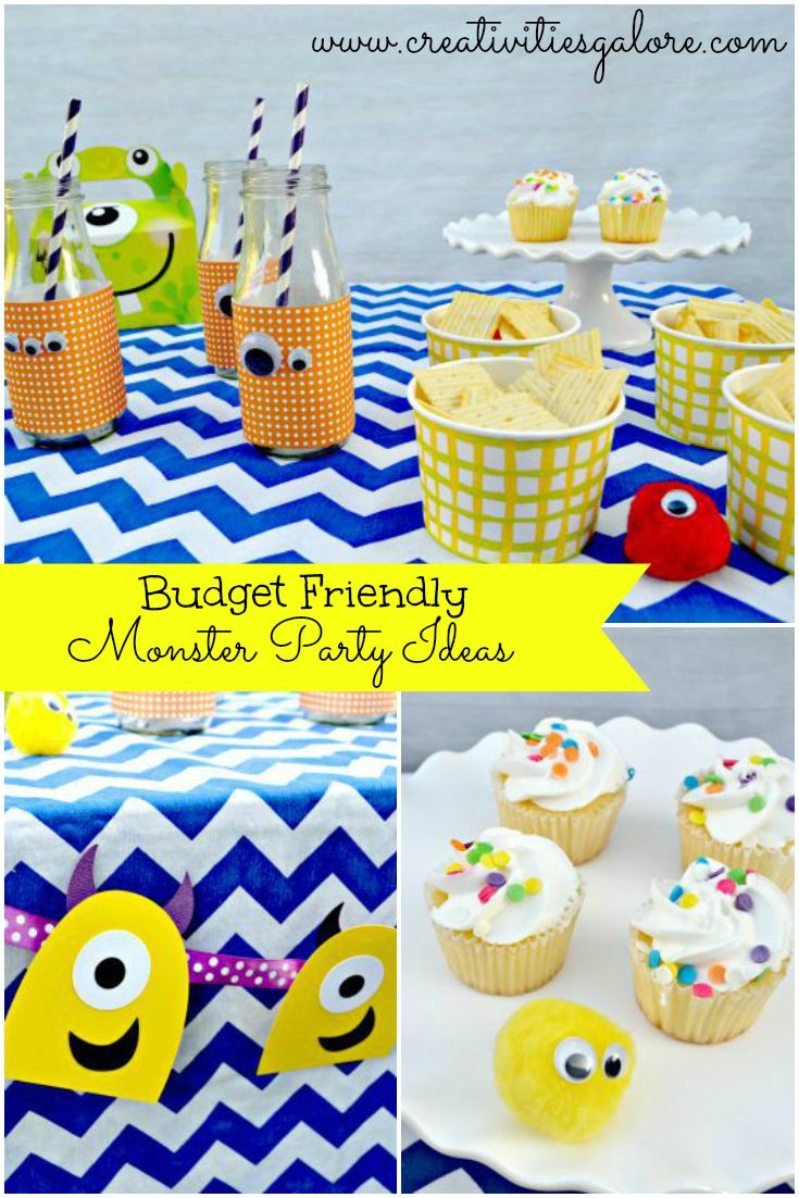 Budget Friendly Monster Party Ideas