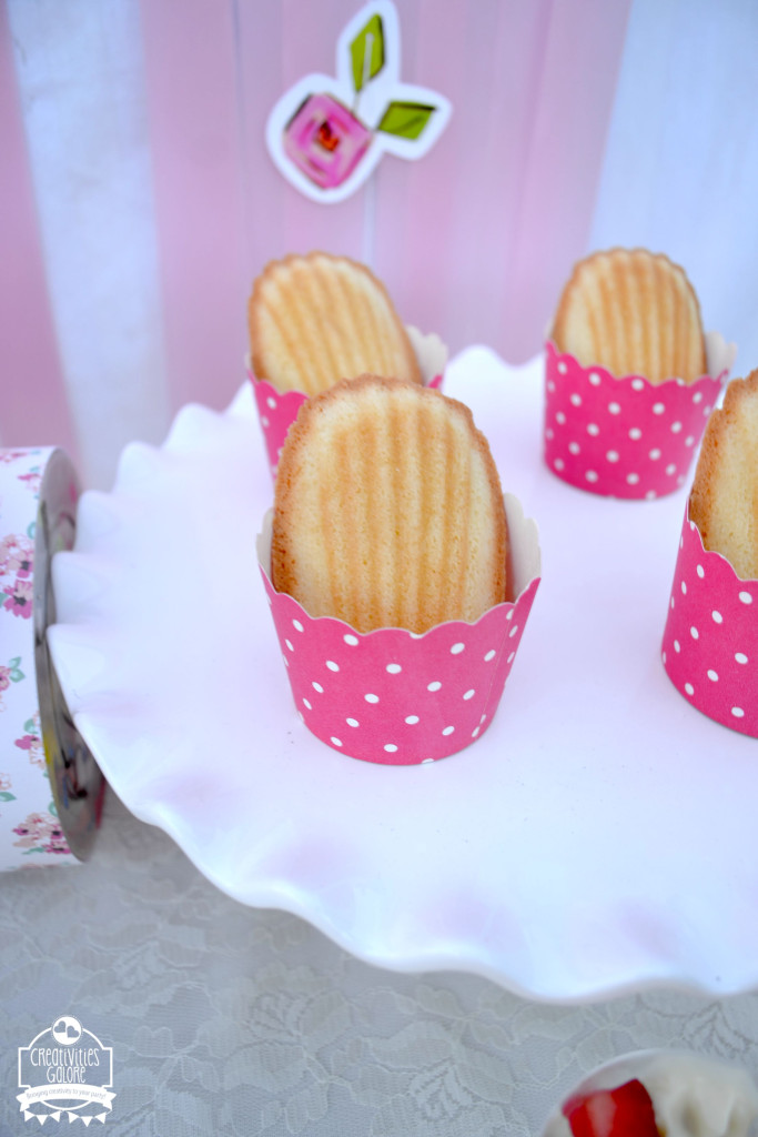 Tea Party Madeleines