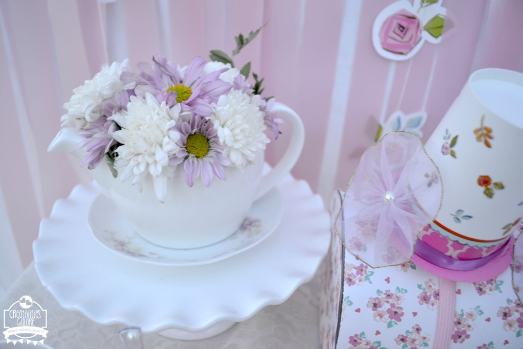 Tea Party Floral Arrangement
