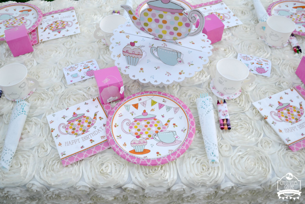 Tea Party Plate Setting