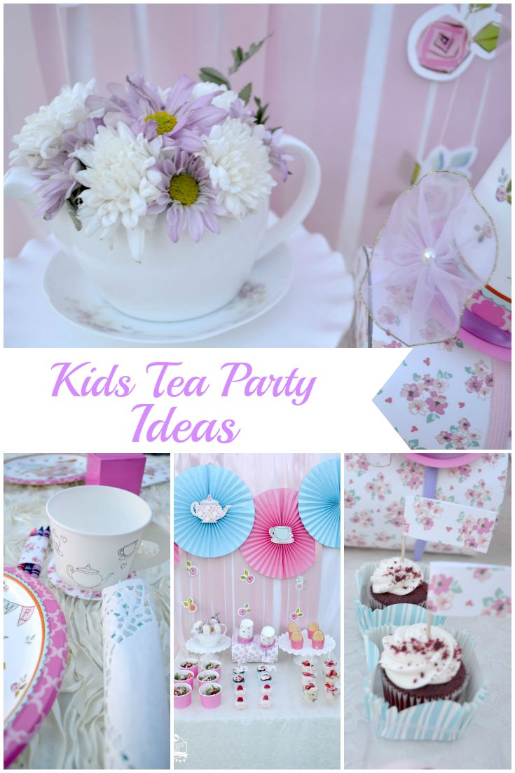 Kids Tea Party Ideas by Creativities Galore