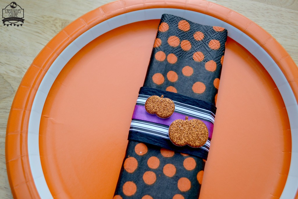 Pumpkin Napkin Ring 1