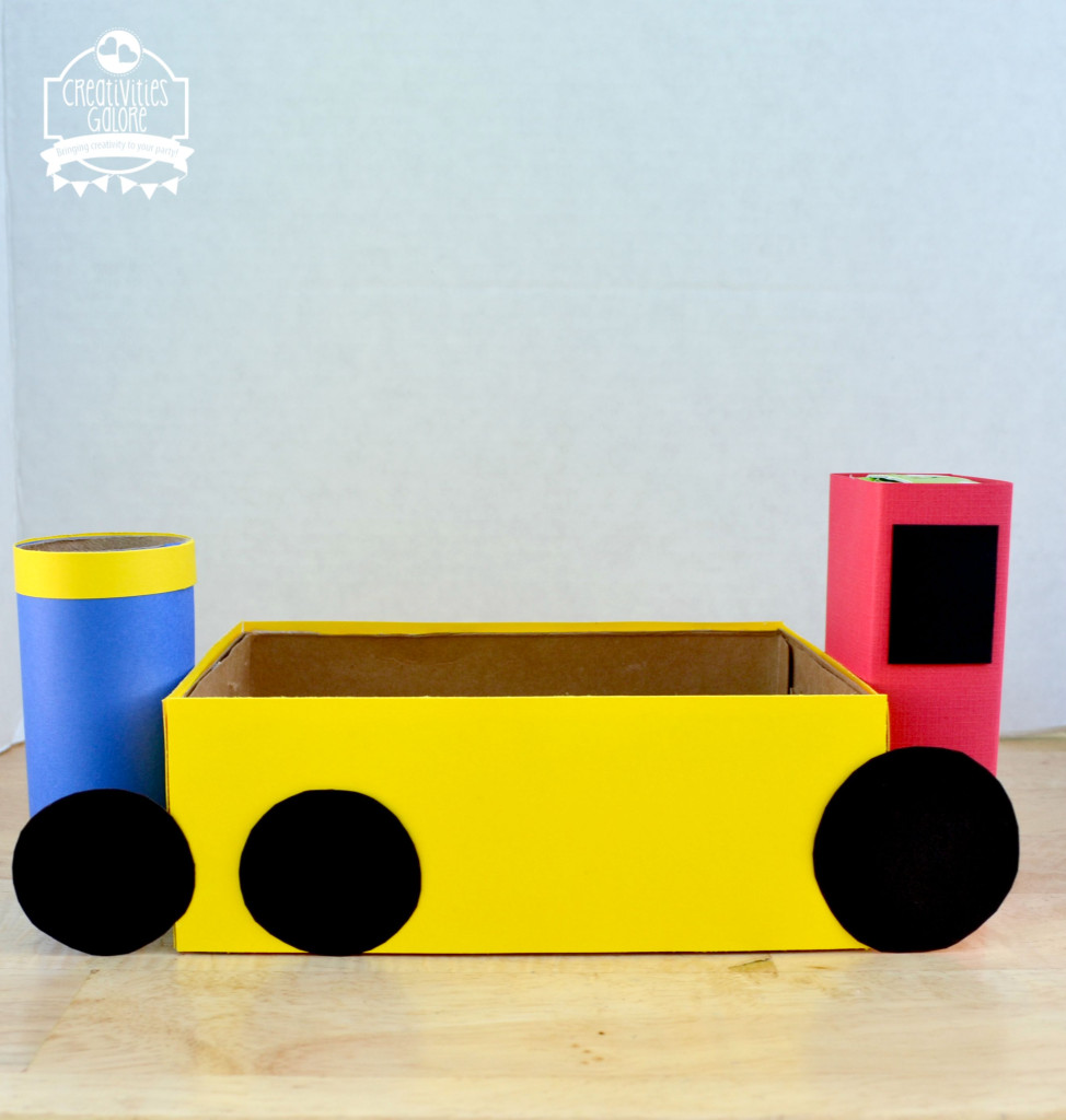 Train Lunch Box Tutorial 4