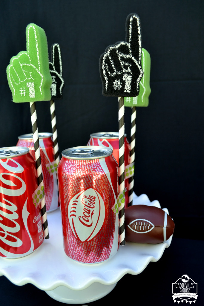 Football Brownies with Coca Cola 10