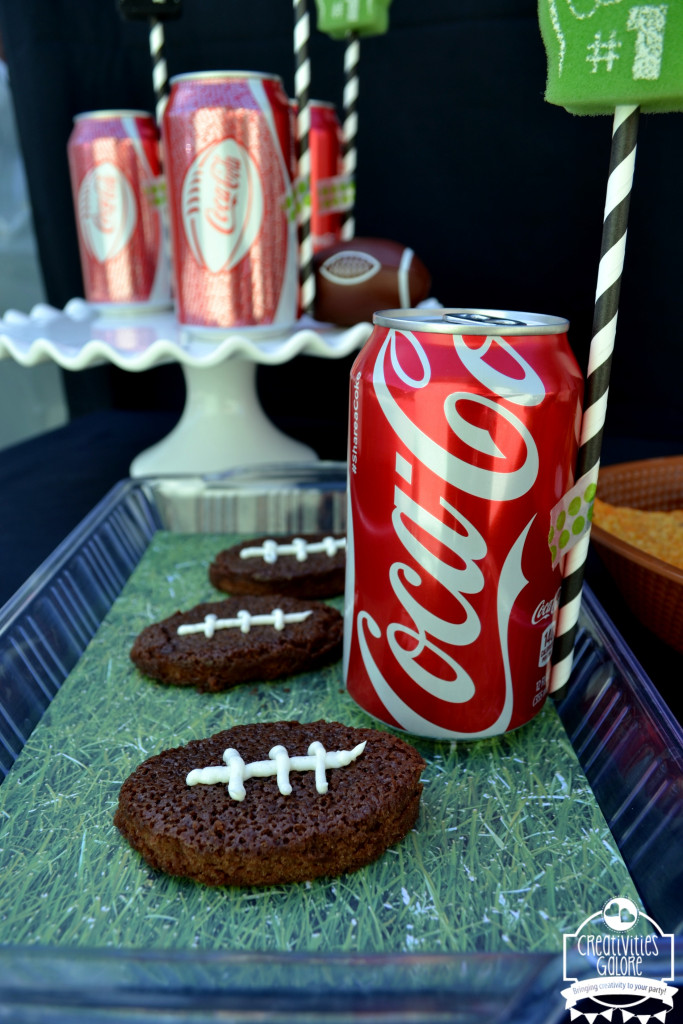 Football Brownies with Coca Cola 12
