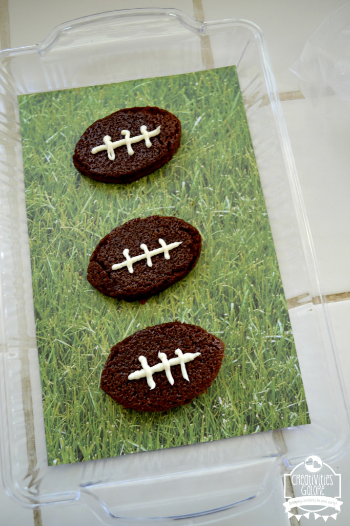 Football Brownies with Coca Cola 7
