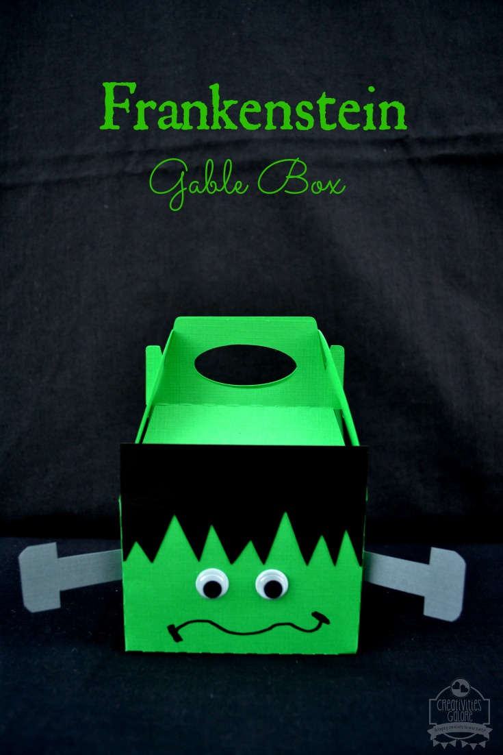 Frankenstein Gable Box by Creativities Galore