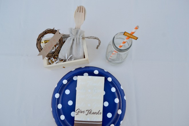 Kids Thanksgiving Place Setting 2