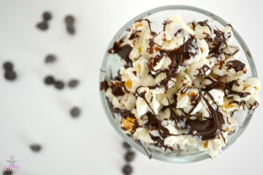 Chocolate and Sea Salt Popcorn
