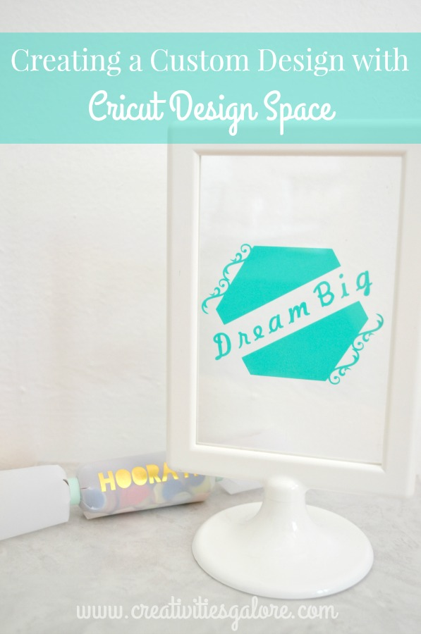 Creating a Custom Design with Cricut Design Space