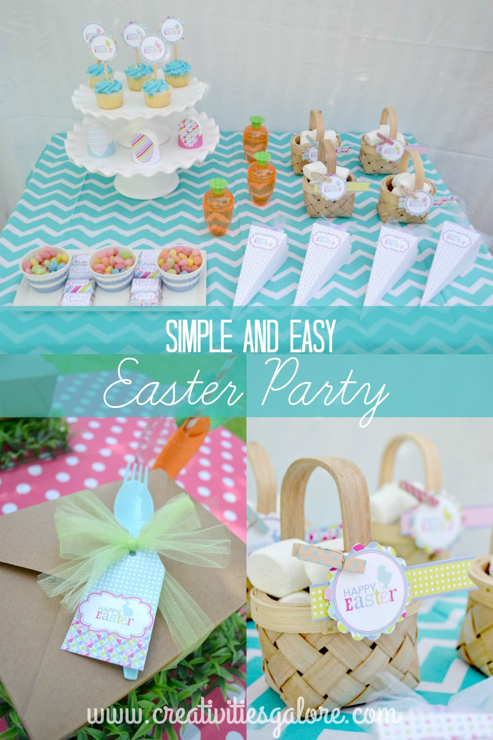 Simple And Smart Nail Art Ideas: Simple And Easy Easter Party
