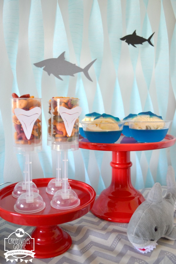 Easy and simple shark week party ideas