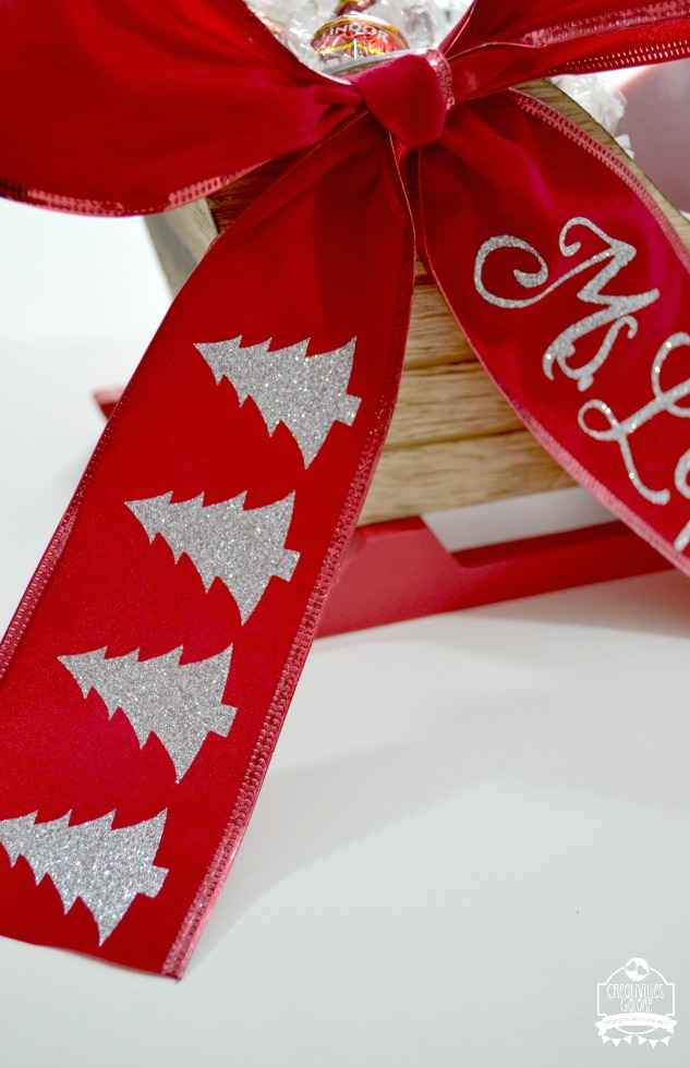 The Cricut Explore Air 2 is great for many DIY projects including personalizing ribbon. I am sharing how easy it is to personalize ribbon for your gifts.