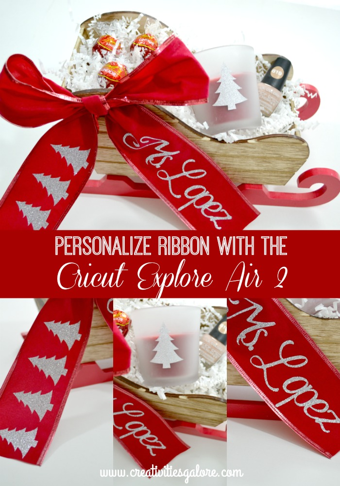 Personalize Ribbon With The Cricut Explore Air 2