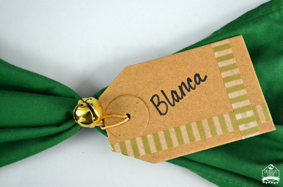 Gift Tag Place Card