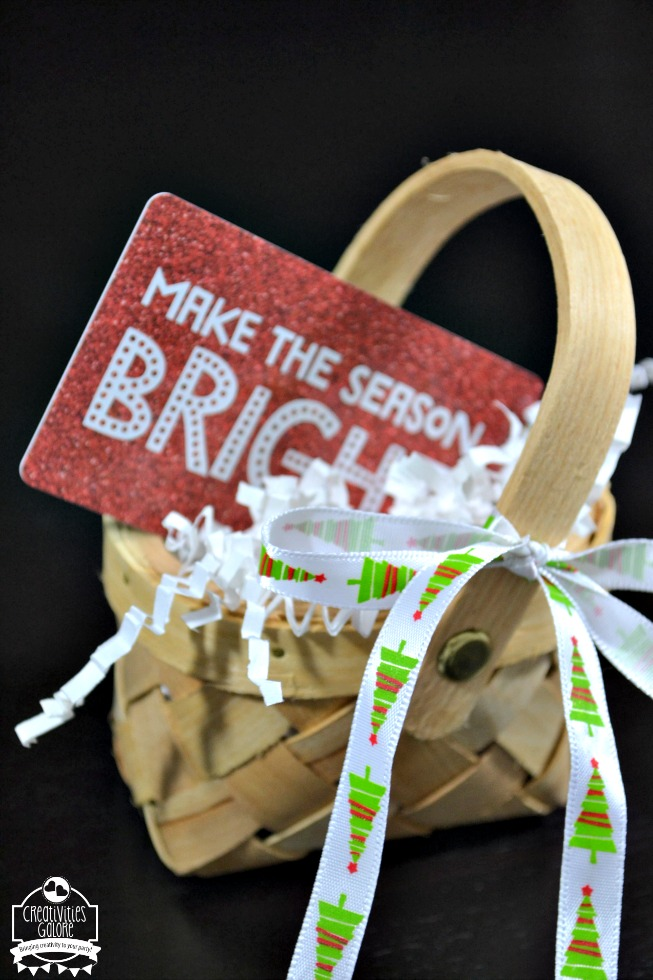 mini gift basket