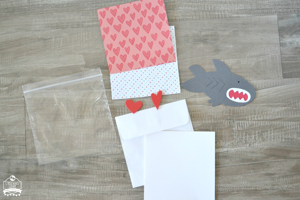 DIY Shark Valentine Card Kits