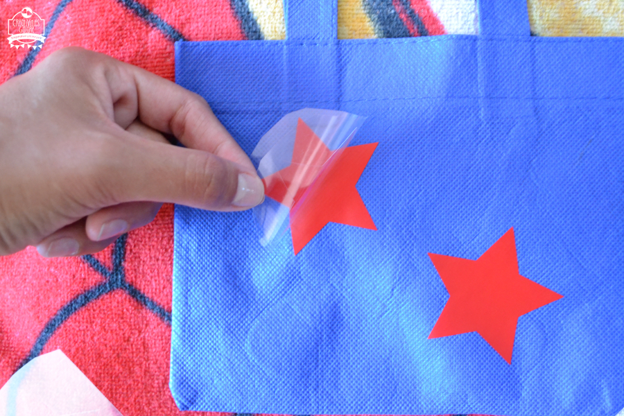 Patriotic Favor Bag
