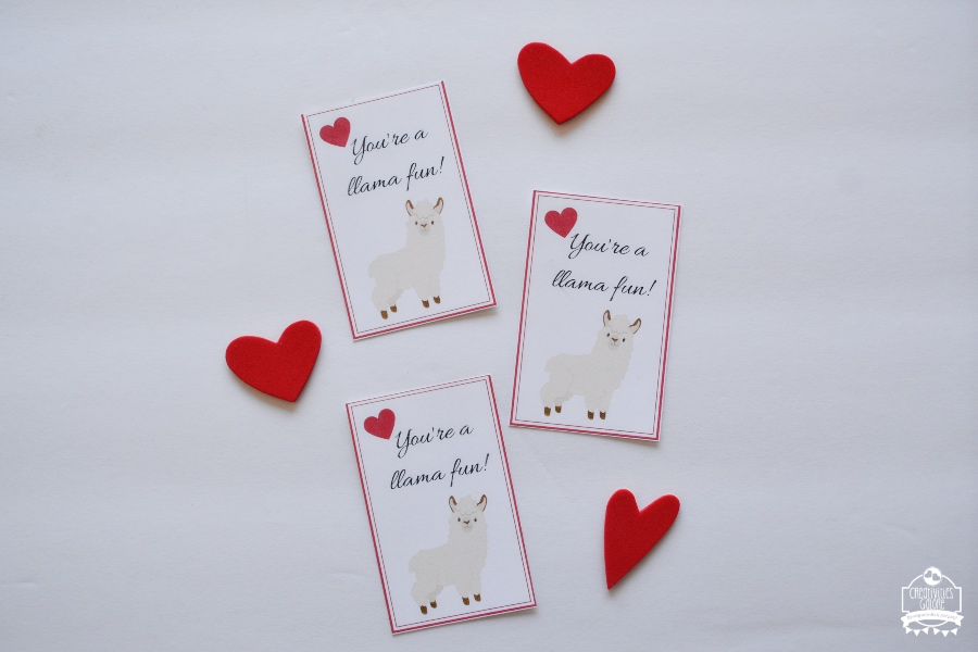 Llamas are still very popular so I thought these free Llama valentine cards would be useful for many people out there, the printable has 2 cute designs.
