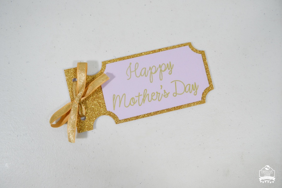 How to Make a Mother's Day Coupon Book with the Cricut Explore Air 2