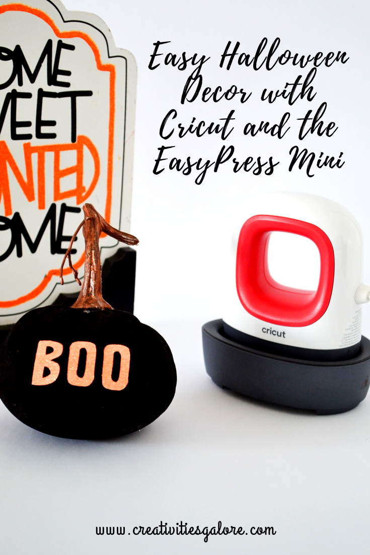 Halloween Decor with the EasyPress Mini