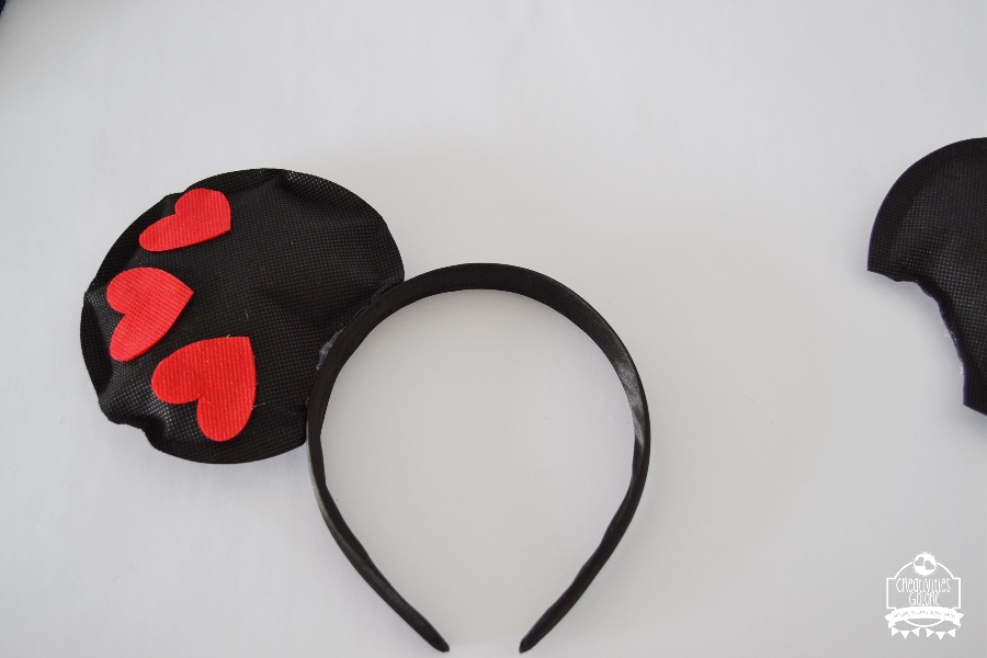 valentine head band