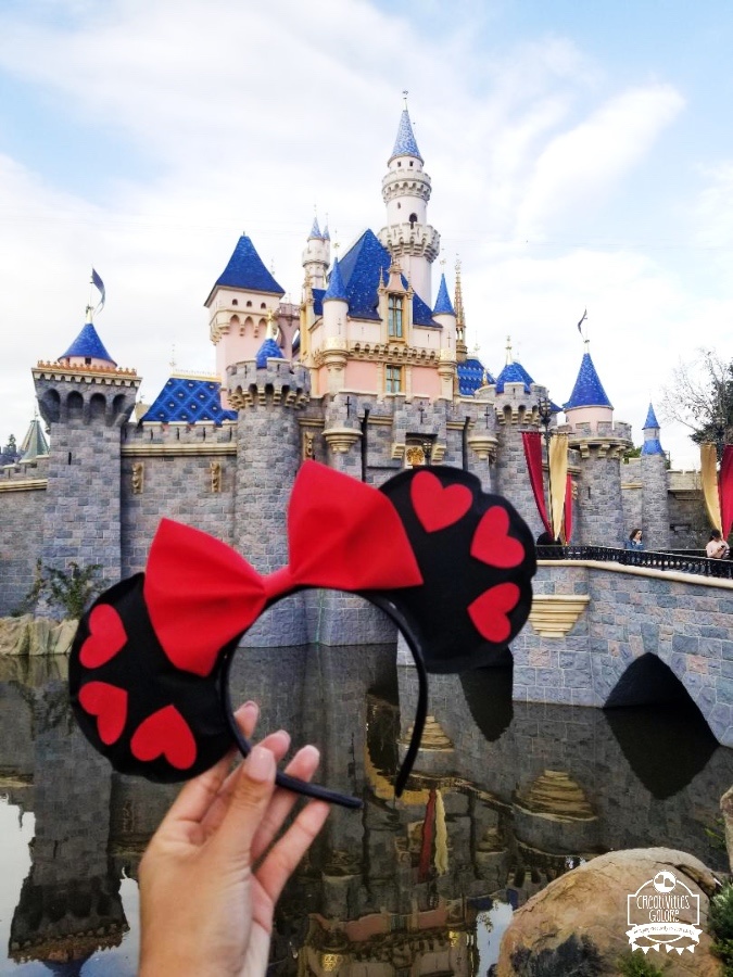 Valentine Minnie Mouse Ears