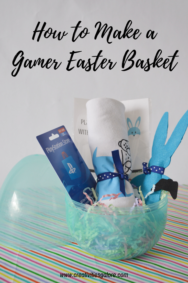 How to Make a Gamer Easter Basket