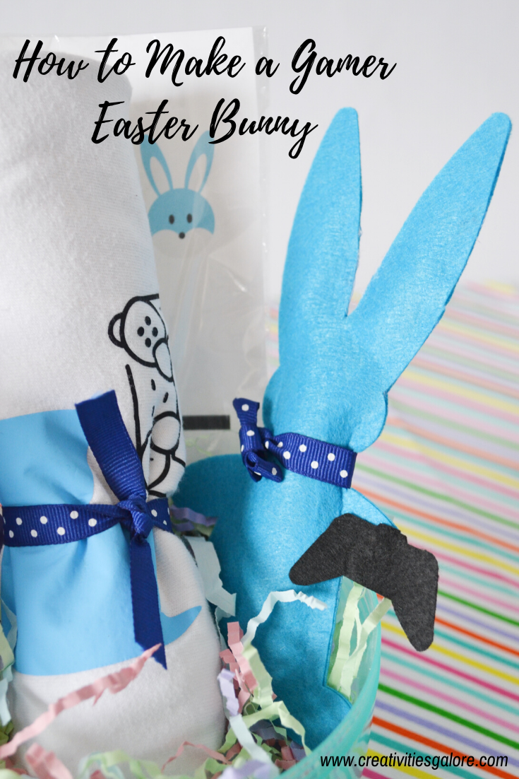 How to Make a Gamer Easter Bunny by Creativities Galore