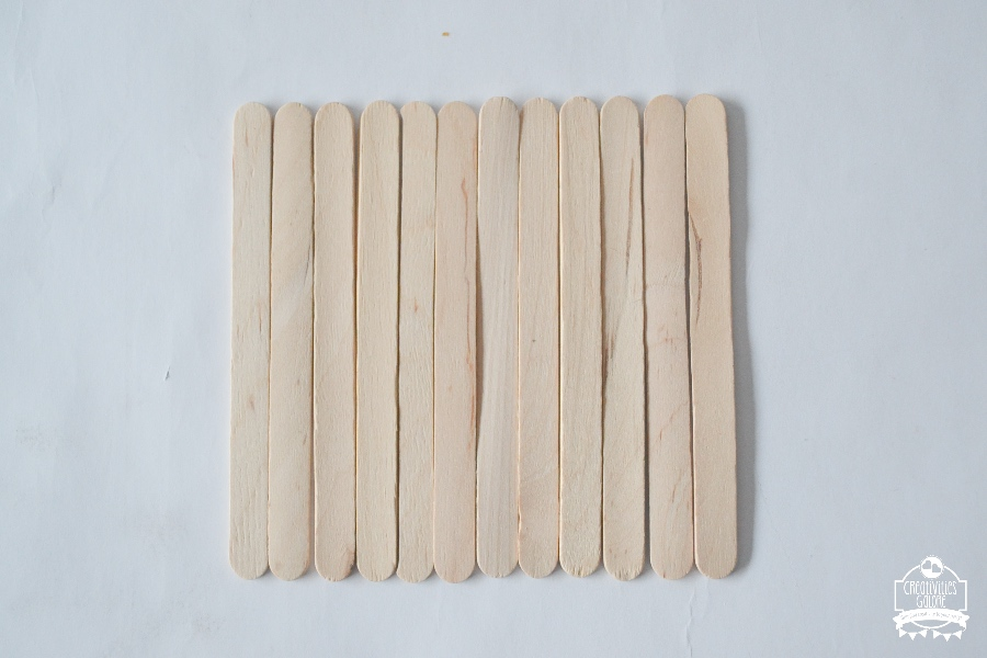 popsicle stick sign