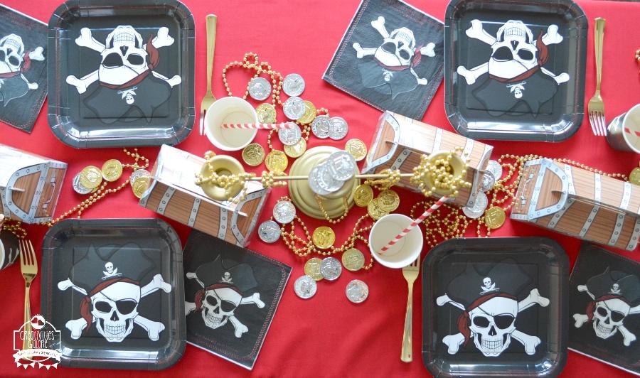 pirate tablescape